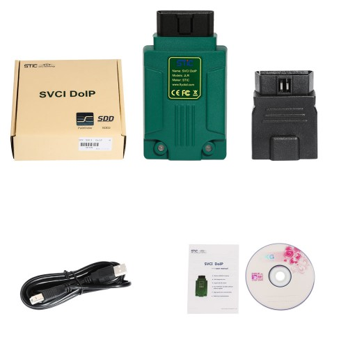 [No Tax]STC SVCI DoIP SDD Pathfinder Diagnostic Tool for Jaguar and Land Rover 2005-2019 Online Programming Supports WIN7 WIN8 WIN10