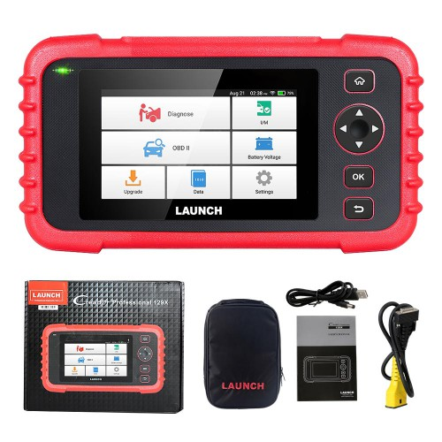 Original LAUNCH CRP123X OBD2 Code Reader for Engine Transmission ABS SRS Diagnostics with AutoVIN Service Lifetime Free Update Online