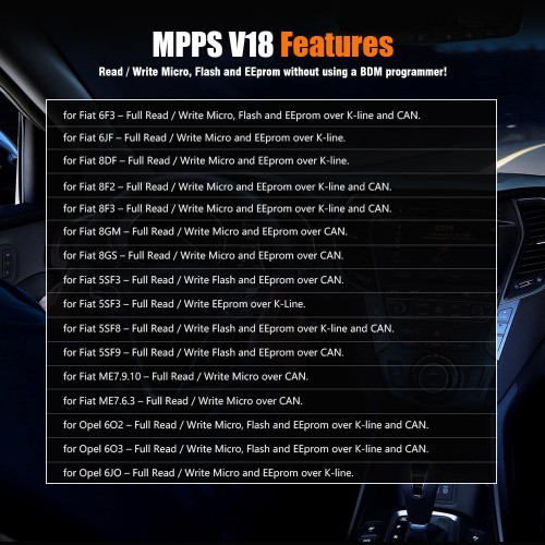 [UK Ship No TAX]MPPS V18 MAIN + TRICORE + MULTIBOOT with Breakout Tricore Cable Firmware 1.09.03​​​​​​​ With Checksum and ECU Recovery