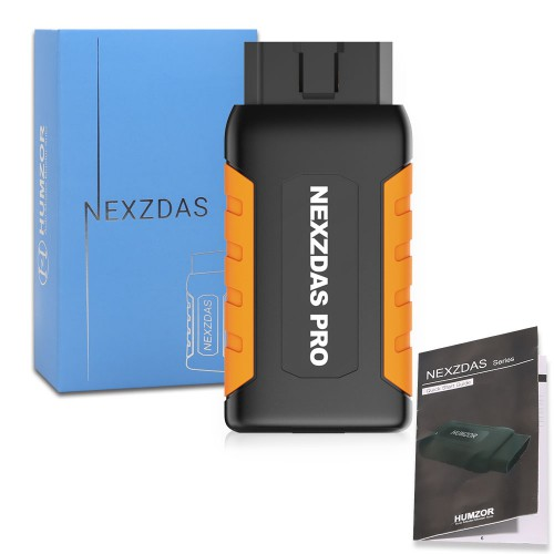 [UK Ship No Tax]Humzor NexzDAS Pro Full-system OBD2 Bluetooth Auto Diagnostic Tool with Special Functions