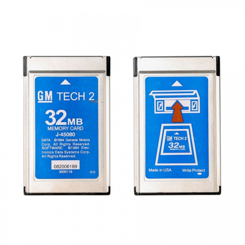 Newest Update 32MB Card for GM TECH2 (GM OPEL SAAB ISUZU SUZUKI & Holden)
