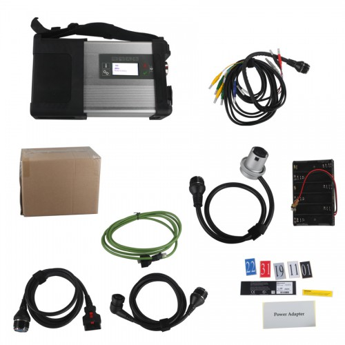 V2019.3 EVG7 DL46 Diagnostic Controller Tablet PC Plus MB SD Connect C5 WiFi Diagnostic Kit Free Installation