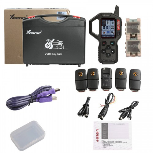 [Ship from UK No Tax]V2.4.3 Original Xhorse VVDI Key Tool Transponder Remote Key Programmer English Version