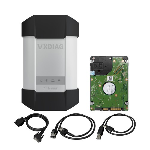 VXDiag C6 MULTI Diagnostic Tool for BENZ Plus Software HDD