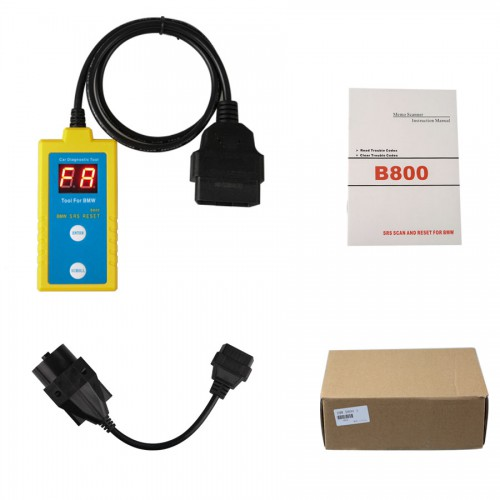 Memo Scanner B800 SRS Scan and Airbag Reset Tool for BMW