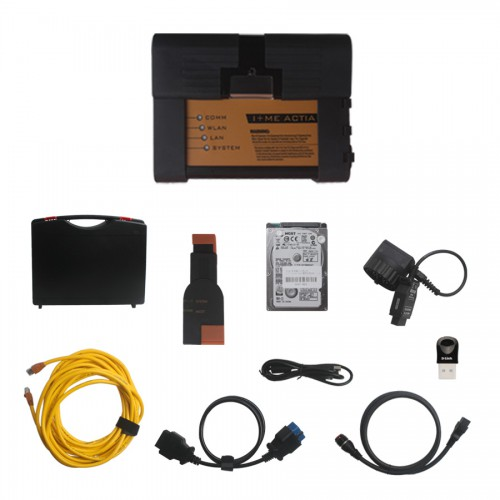 [DHL FREE SHIP]V2016.3 ICOM A2+B+C For BMW Programming Tool With HDD WIFI USB