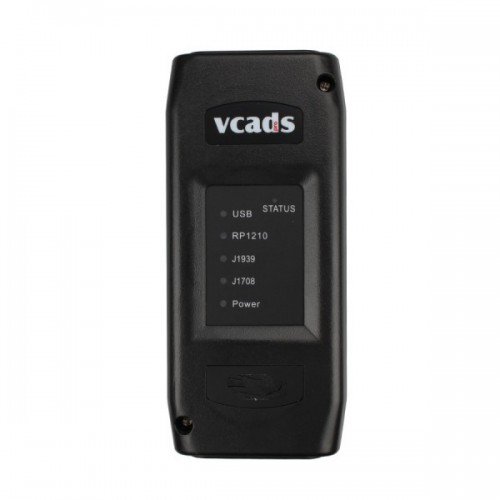 [UK Ship No Tax]VCADS Pro 2.40 Heavy Duty Diagnostic Tool  for Volvo Truck Support Multi-language