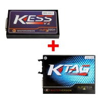 [Ship UK No Tax]V2.47 Kess V2 Firmware V5.017 Online Version Plus V2.23 KTAG Firmware V7.020 with Free ECM TITANIUM