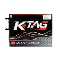 [Ship from UK No Tax]KTAG V7.020 Red PCB Firmware K-TAG 7.020 Master Software V2.23 EU Online Version No Tokens Limitation