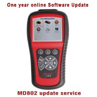 Autel MD802 4 Systems/Full Systems Software Update Online Service(One Year)