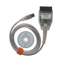MINI VCI V12.10.019 Single Cable for Toyota TIS OEM Diagnosis Update via Email