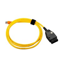 Interface Cable For BMW ENET (Ethernet to OBD) E-SYS ICOM Coding F-Series for Sales