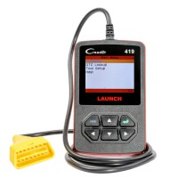 [Ship From UK No Tax]Launch DIY Scanner CReader 419 OBDII/EOBD Auto Diagnostic Scan Tool Code Reader Same as Launch DIY CReader 4001