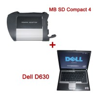 V2018.12 MB SD C4 WiFi Diagnostic Tool Plus Dell D630 1GB Laptop Plus Free Installation Activation Service
