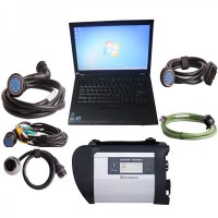 V2019.3 MB SD C4 WiFi Diagnostic Tool Plus 4GB Lenovo T410 Laptop Plus Free Activation Service