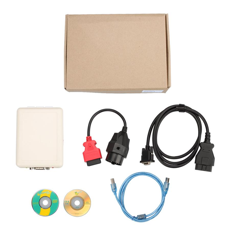 INPA + 1.4.0+2.01+2.10V 4 In 1 OBDII Diagnostic Interface for BMW