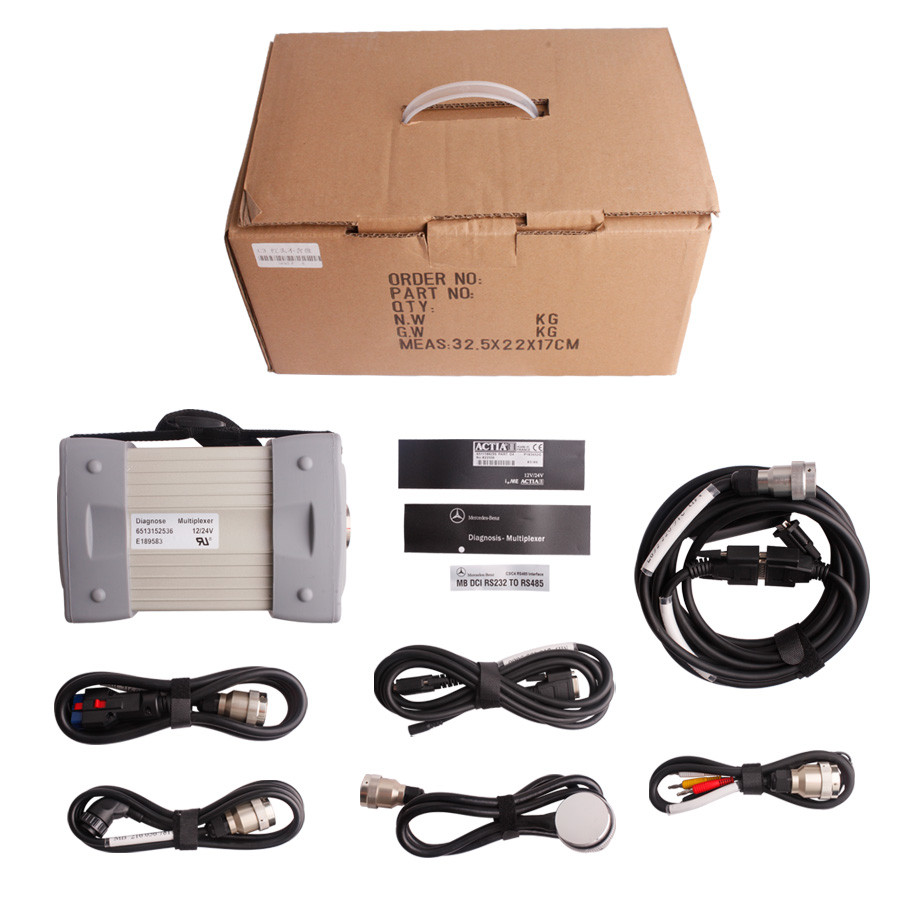 Mb Star C3 Pro With Seven Cable Fit IBM T30 Laptop Special for Mercedes Benz