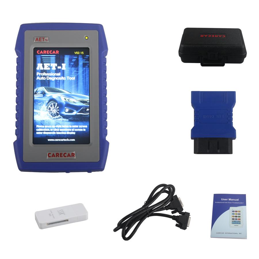 Original Carecar AET-I Retail DIY Professional Auto Diagnostic Tool Carecar  AET I OBD2 EOBD Scanner Update Online