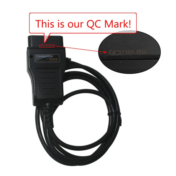 Original Xhorse HDS OBD2 Diagnostic Cable for Honda with ARM Chip and Multi-language