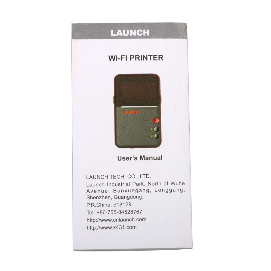 Launch Mini WiFi Printer for X431 V Pro / V Plus Pro/ PAD III V 8'' Tablet PC