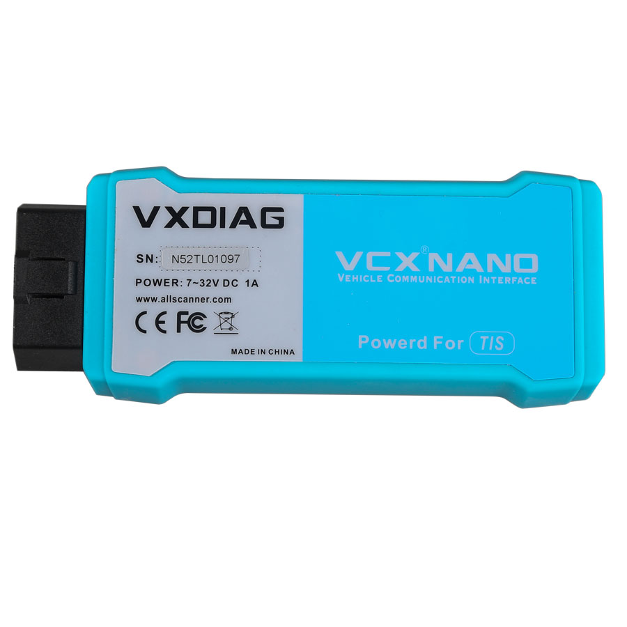 VXDIAG VCX NANO SAE J2534 WiFi Diagnostic Scanner for Toyota TIS Techstream V11.00.017
