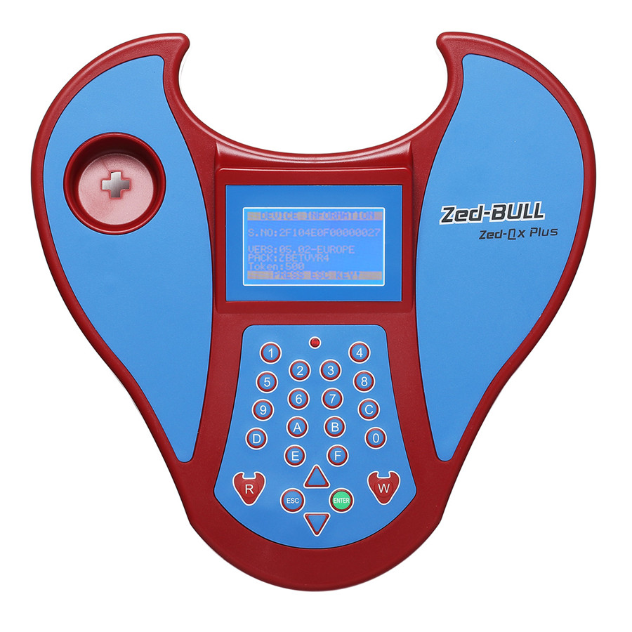 Best ZED-Bull V508 Transponder Clone Key Programmer without Tokens Limitation No Login Card Need