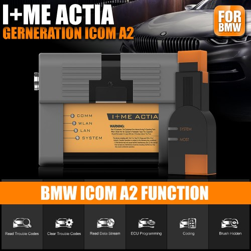 Perfect Version ICOM A2+B+C For BMW Diagnostic & Programming Tool With Software