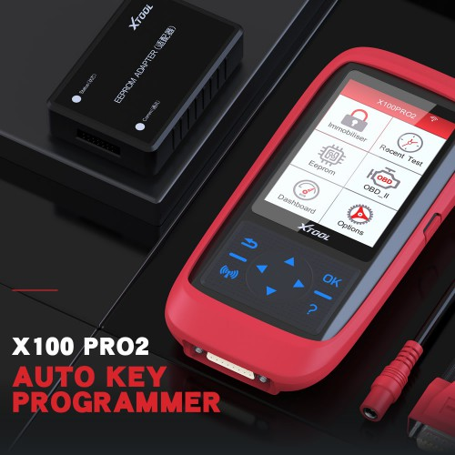[UK Ship] Original XTOOL X100 Pro2 Auto Key Programmer Mileage adjustment Including EEPROM Adapter Free Update