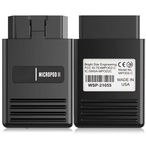 [UK Ship No Tax] wiTech MicroPod 2 V17.04.27 for Chrysler Diagnosis & Programming 2 in 1 Multi-language