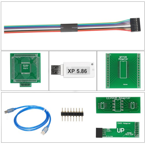 [No Tax]Latest Version X-PROG Box ECU Programmer XPROG-M V5.84 with USB Dongle