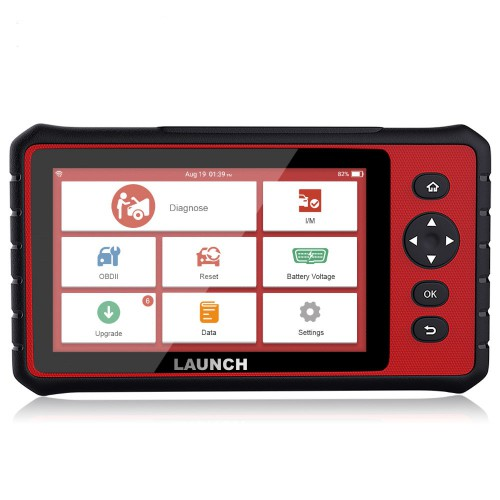 Original LAUNCH X431 CRP909 All System Auto OBDII Diagnostic Scanner with 15 Special Functions