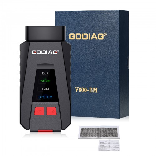 [€146 No Tax] GODIAG V600-BM Diagnostic and Programming Tool for BMW Supports DOIP K-Line CAN FD Same Functions As BMW ICOM A2/ICOM Next