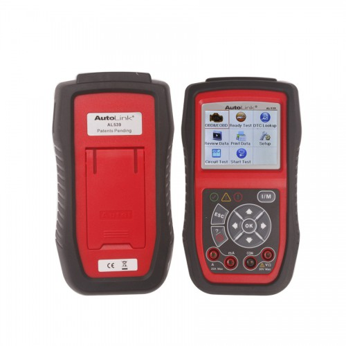 Original Multi-Language AutoLink AL539 OBDII&CAN SCAN Tool