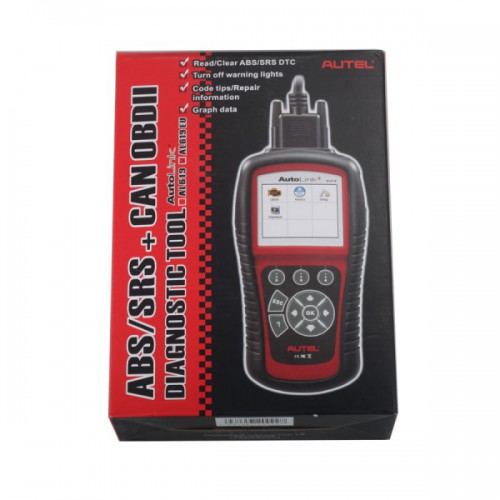 Original Autel AutoLink AL619EU OBDII CAN ABS And SRS Scan Tool Update Online
