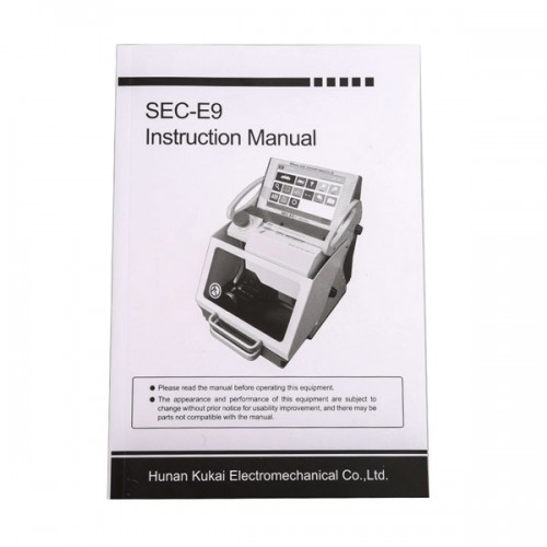 [7% Off €2043]Latest SEC-E9 CNC Automated Key Cutting Machine with Android Tablet