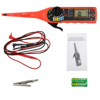 Line/Electricity Detector and Lighting 3 in 1 Auto Repair Tool Red