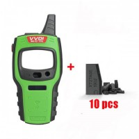 [No Tax]Xhorse VVDI Mini Key Tool Global Version US/EU/NA/SA with 10Pcs VVDI Super Chip Transponder