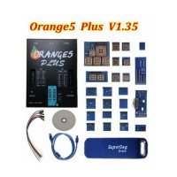 [No Tax]OEM Orange 5 Plus Orange5 V1.35 with USB Dongle and Full Adapter Full Packet Hardware + Enhanced Function Software