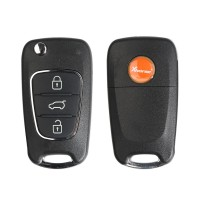 [No Tax] Xhorse XKHY02EN Wire Remote Key For Hyundai Flip 3 Buttons 5pcs/lot Get 25 Bonus Points for Each Key