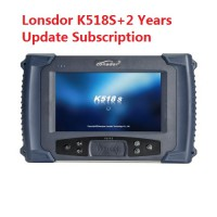 [UK Ship No Tax] LONSDOR K518S Key Programmer Support Toyota All Key Lost with 2 Years Free Update Online