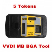 5 Tokens for Xhorse VVDI MB BGA Tool Password Calculation