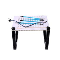 [UK Ship No Tax]LED BDM Frame with Mesh and 4 Probe Pens for FGTECH BDM100 KESS KTAG K-TAG ECU Programmer Tool