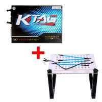V2.23 KTAG Firmware V7.020 ECU Programmer Plus LED BDM Frame with Mesh and 4 Probe Pens