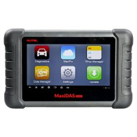 [UK Ship No Tax]Autel Maxidas DS808 Auto Diangostic Tool Handheld Touch Screen Diagnostic Tools Update Online Update Version of Autel DS708
