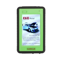 Original CareCar C68 Retail DIY Professional Auto Diagnostic Tool Two Years Free Update(Replaced by Tuirel S777)
