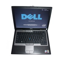 Dell D630 Core2 Duo 1,8GHz, 4GB Memory WIFI, DVDRW Second Hand Laptop Especially for BMW ICOM(SO489 can replace)