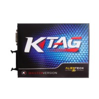 V2.11 KTAG K-TAG Master Firmware V6.07 ECU Programming Tool With Unlimited Token & Free ECM TITANIUM V1.61(The serials of SE135 can replace)