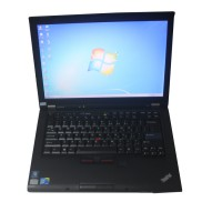 Second Hand Lenovo T410 Laptop I5 CPU 4GB Memory WIFI 253GHZ DVDRW For Pwis2 Tester ii bmw Icom MB Star