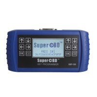 Original V1.5 SuperOBD SKP-100 7 in 1 OBD2 Key Programmer Update Online for Free